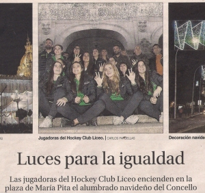 2016-12-07-la-opinion-jugadoras-hockey-club-liceo-luces-navidad